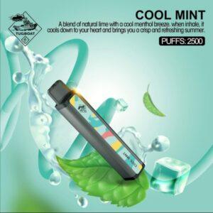 COOL MINT BY TUGBOAT XXL / 2500 PUFFS