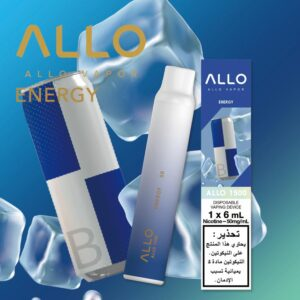 ENERGY BY ALLO DISPOSABLE 1500 PUFFS