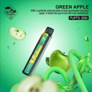 GREEN APPLE BY TUGBOAT XXL / 2500 PUFFS