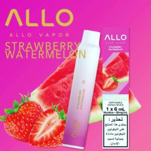 STRAWBERRY WATERMELON BY ALLO DISPOSABLE 1500 PUFFS