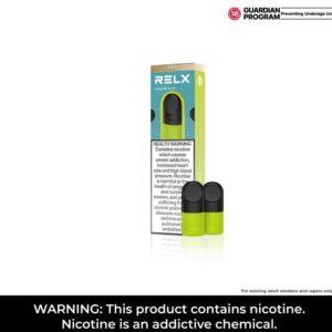 RELX Infinity PRO pods - Golden Slice / Nicotine level: 18 mg/ml