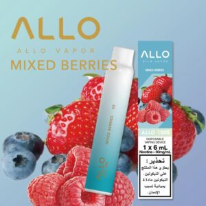 MIXED BERRIES BY ALLO DISPOSABLE 1500 PUFFS