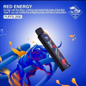 RED ENERGY BY TUGBOAT XXL / 2500 PUFFS