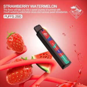 STRAWBERRY WATERMELON BY TUGBOAT XXL / 2500 PUFFS