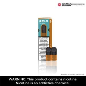 RELX Infinity PRO pods - Lush Tobacco / Nicotine level: 18 mg/ml