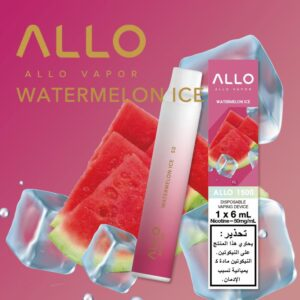 WATERMELON ICE BY ALLO DISPOSABLE 1500 PUFFS