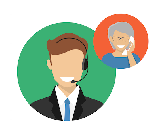 A phone call is better than an email graphic