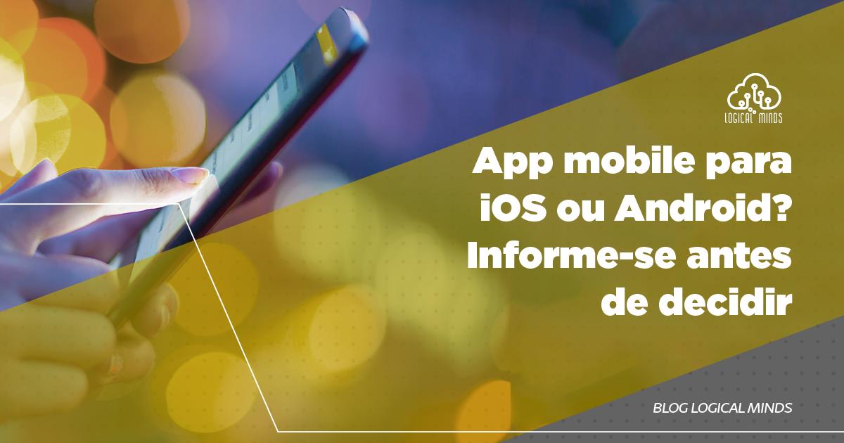 Está pensando em apostar em um app próprio, mas não sabe qual sistema operacional é o mais indicado? iOS e Android são os mais utilizados no mundo mobile. Confira no post as características e vantagens de cada um para fazer sua escolha!