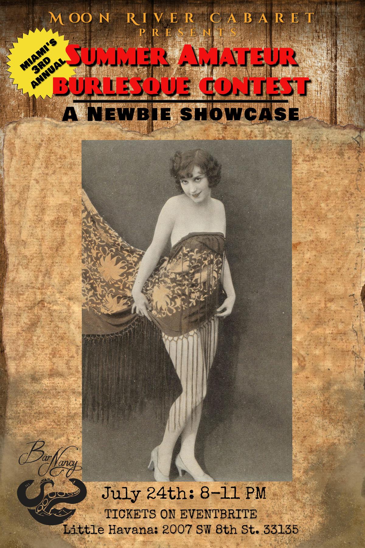 Summer Amateur Barlesque Contest at Bar Nancy - July 24