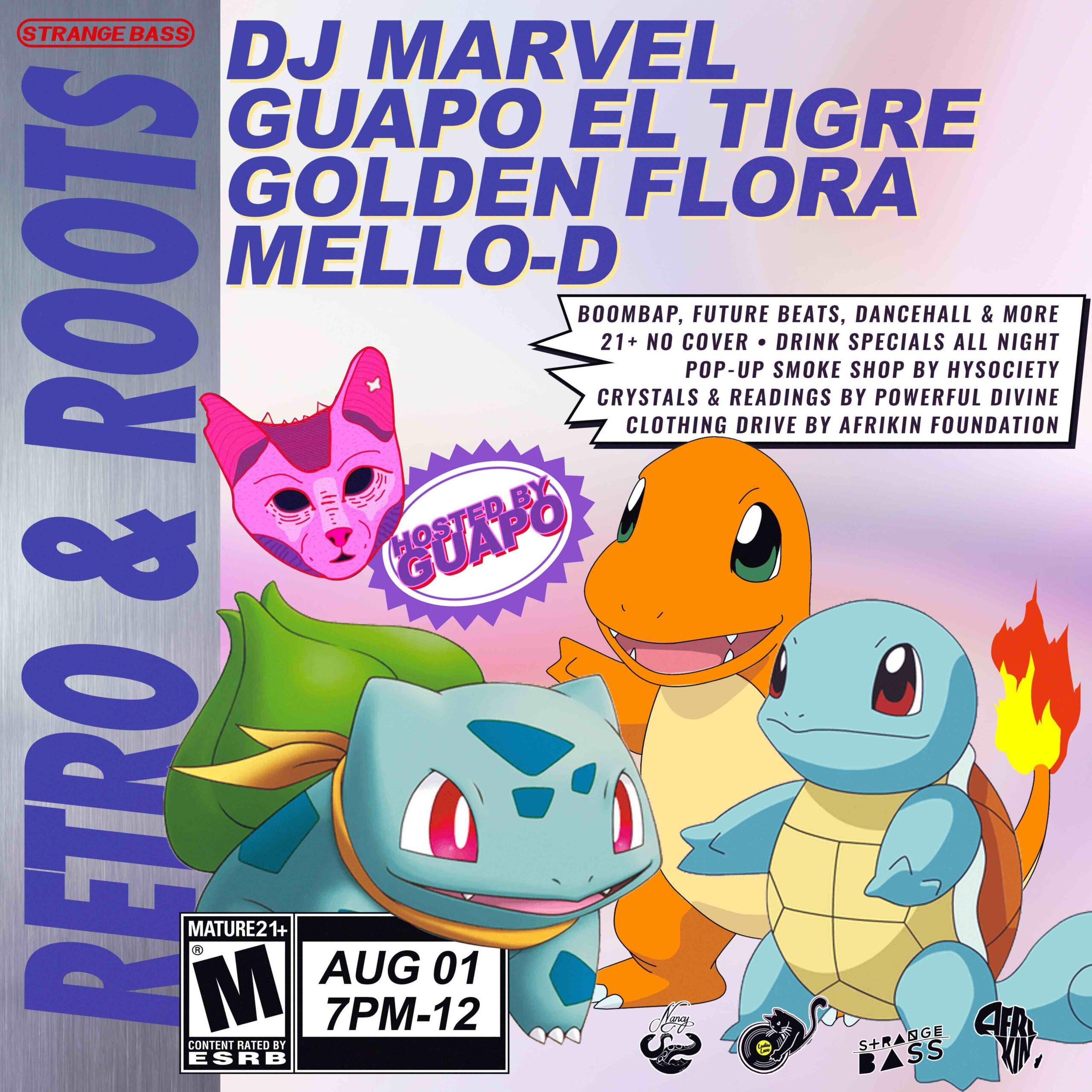 DJ MARVEL - GUAPO EL TIGRE - GOLDEN FLORA - MELLLO-D @ BAR NANCY