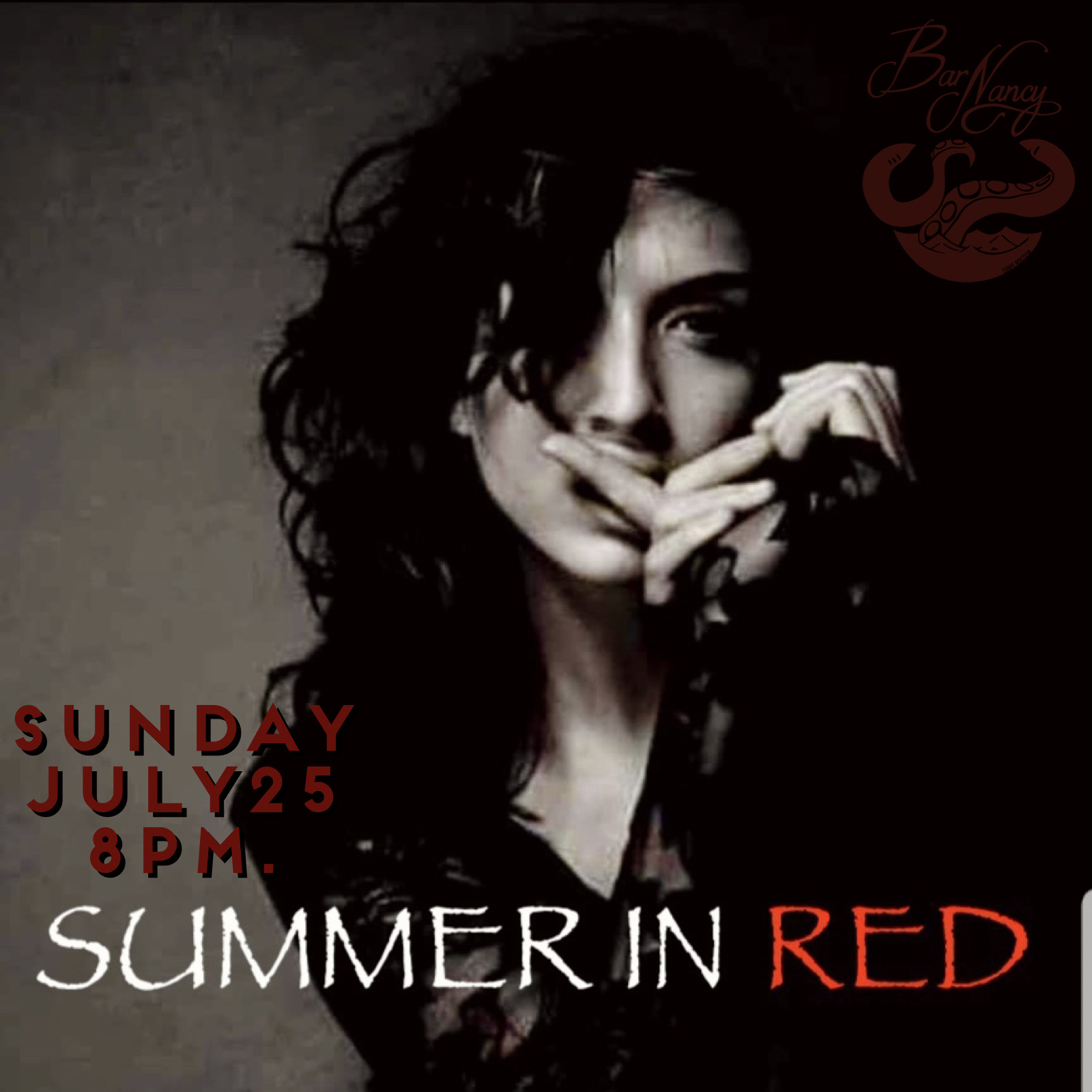 Summer in Red at Bar Nancy - Sunday July 25 - 8PM
