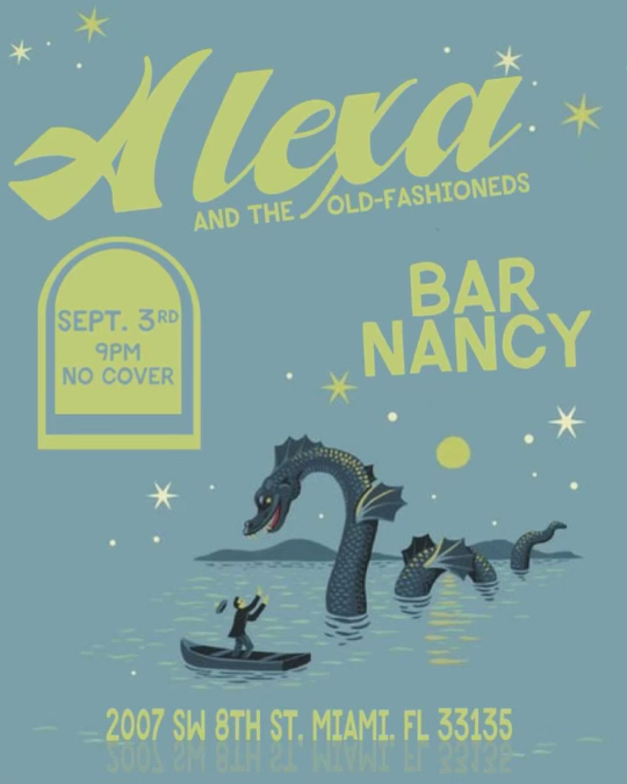 Alexa and The Old-Fashioneds at Bar Nancy Sept 3rd at 9PM