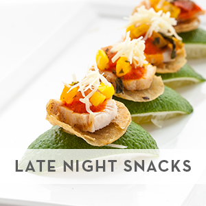 Jewell Events Catering - Wedding Late Night Snacks