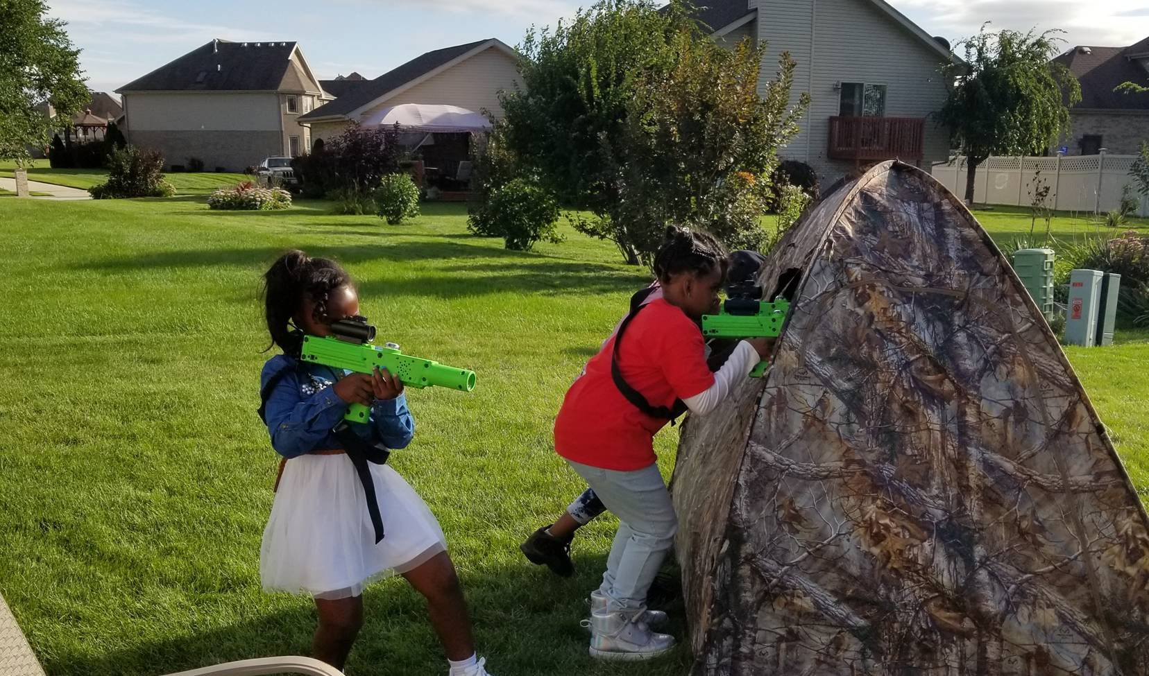 Laser Tag party in Chicago, Illinois