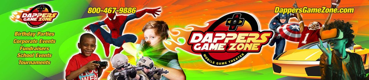 Dapper's Game Zone – Video Game Truck and Laser Tag Birthday Parties  – Chicago – Greater South – Northwest Indiana