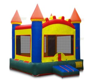 Arch castle inflatable bounce house jumper rental in Chicago and Northwest Indiana