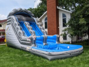 Iceberg Mountain inflatable water slide rental in Chicago and Northwest Indiana