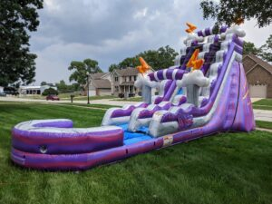 Thunder Mountain inflatable water slide rental in Chicago and Northwest Indiana