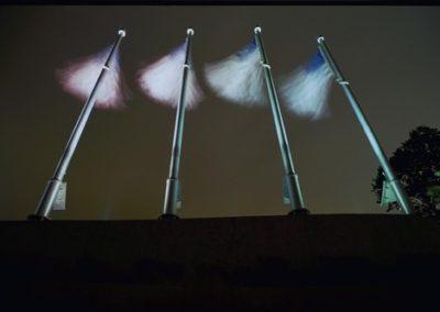 Flag Light - Medal of Honor Memorial