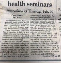 CMH to Host Heart Health Seminars
