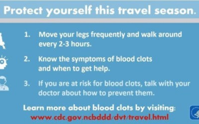 March is Blood Clot Awareness Month!