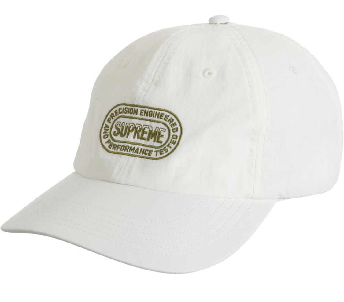 Supreme 6 Panel Hat White