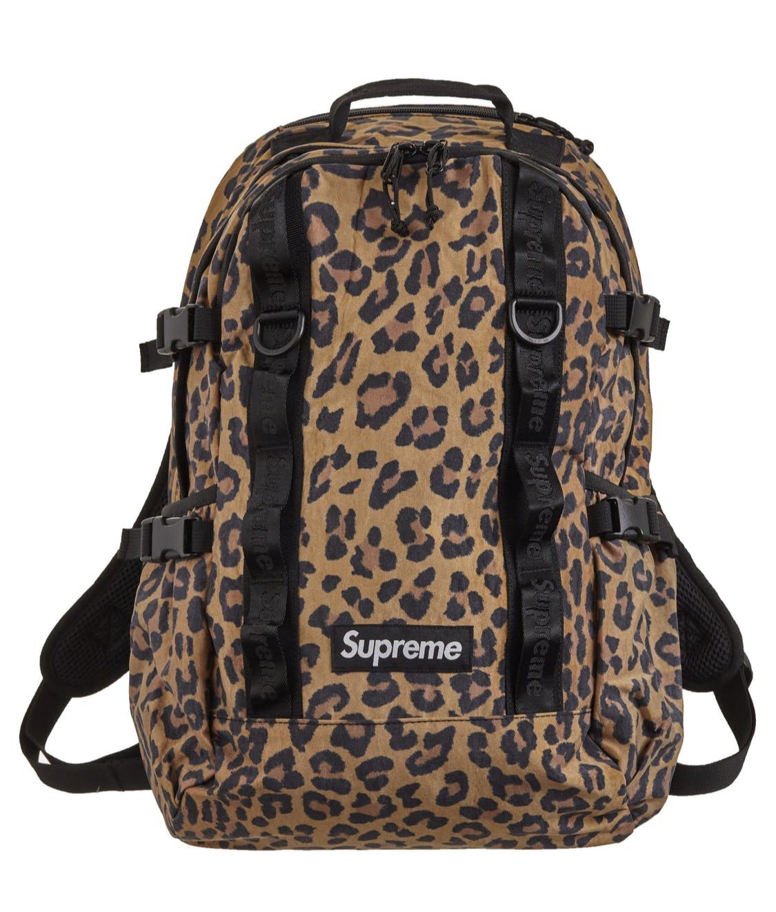 Supreme Backpack Leopard Print