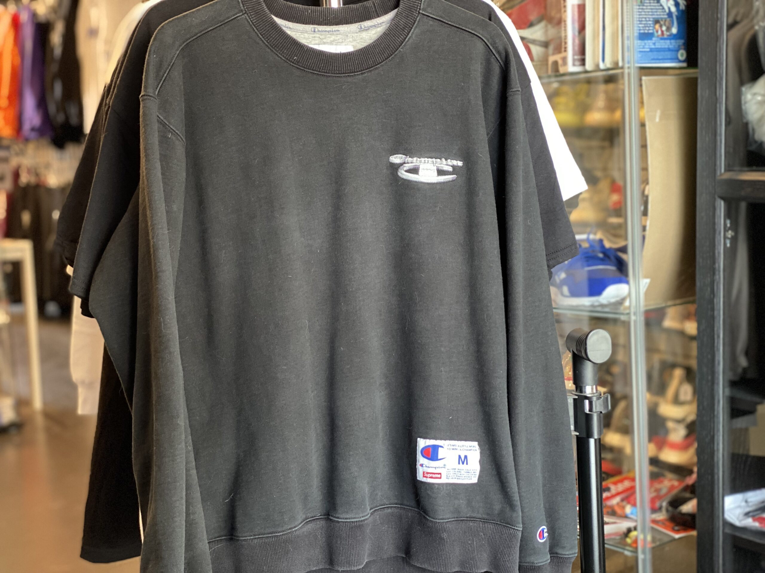 Preowned Supreme x Champion Long Sleeve Black Size M