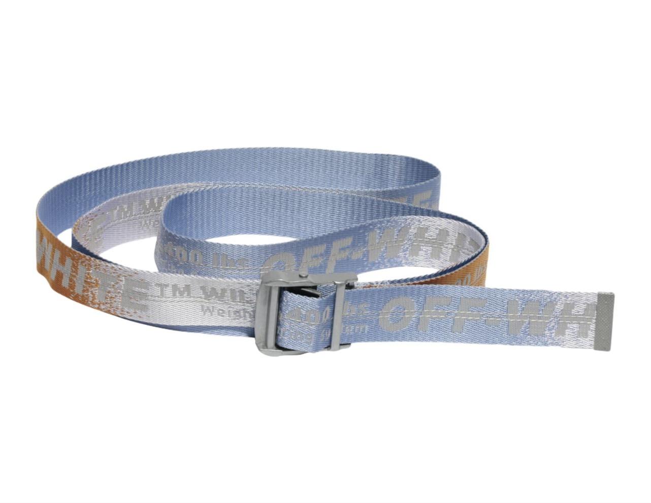 Off White Gradient Industrial Belt