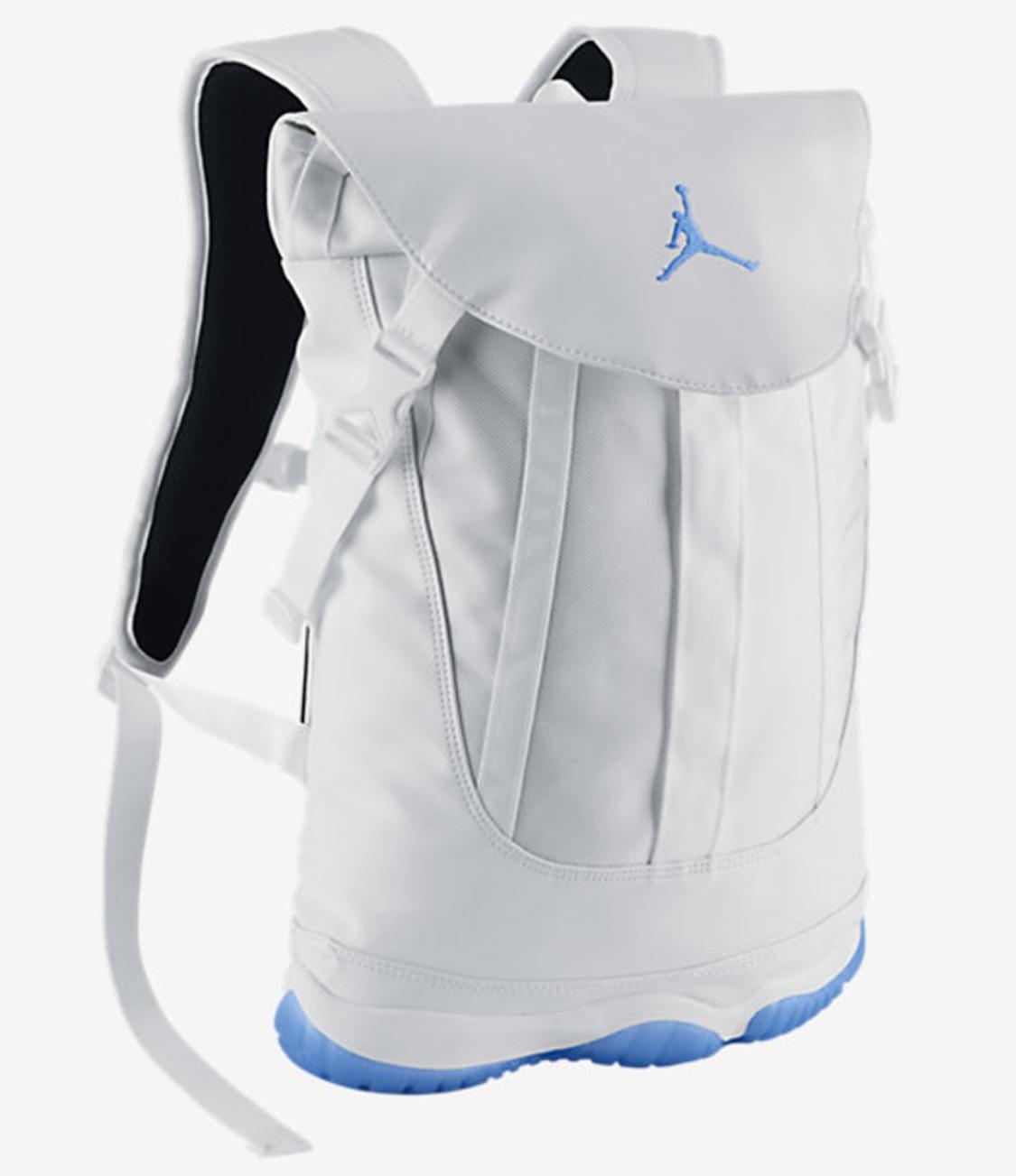 Lightly Aged Jordan 11 Legend Blue Back Pack