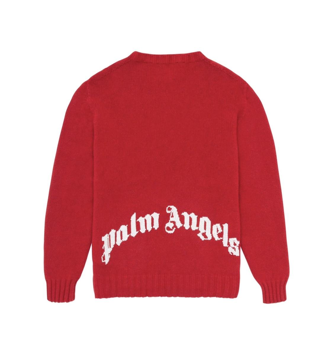 Palm Angels Crewneck Red Size XL