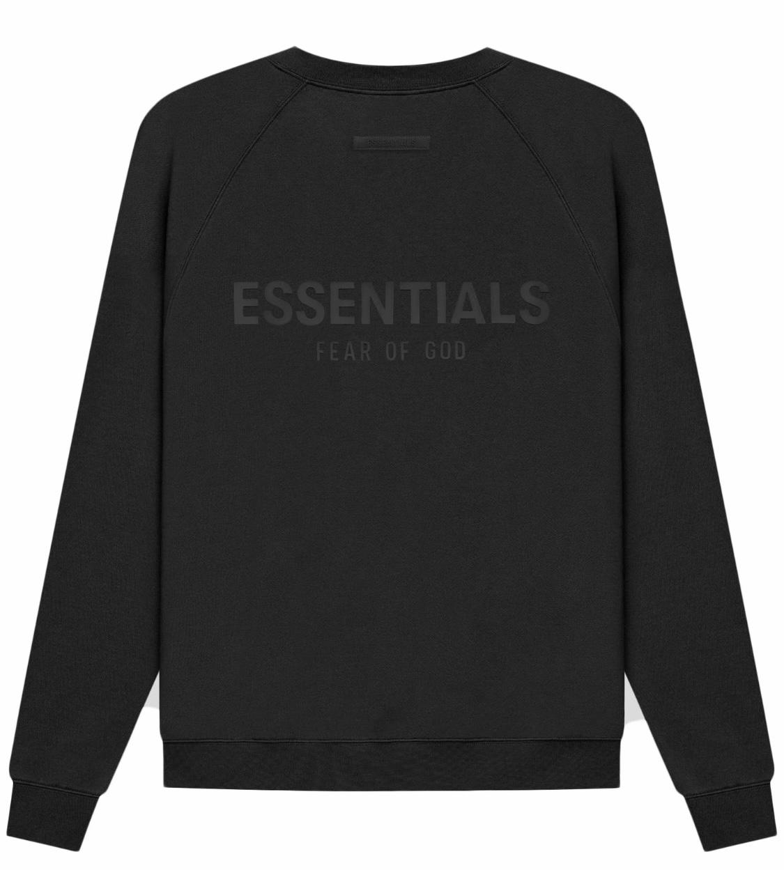 Fear of God Essentials Crewneck Black Size S