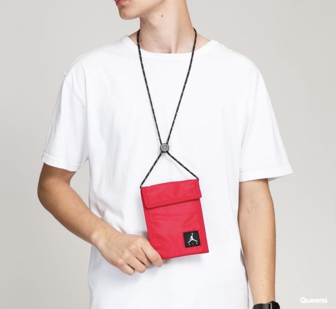 Jordan Tri-Fold Bag Red