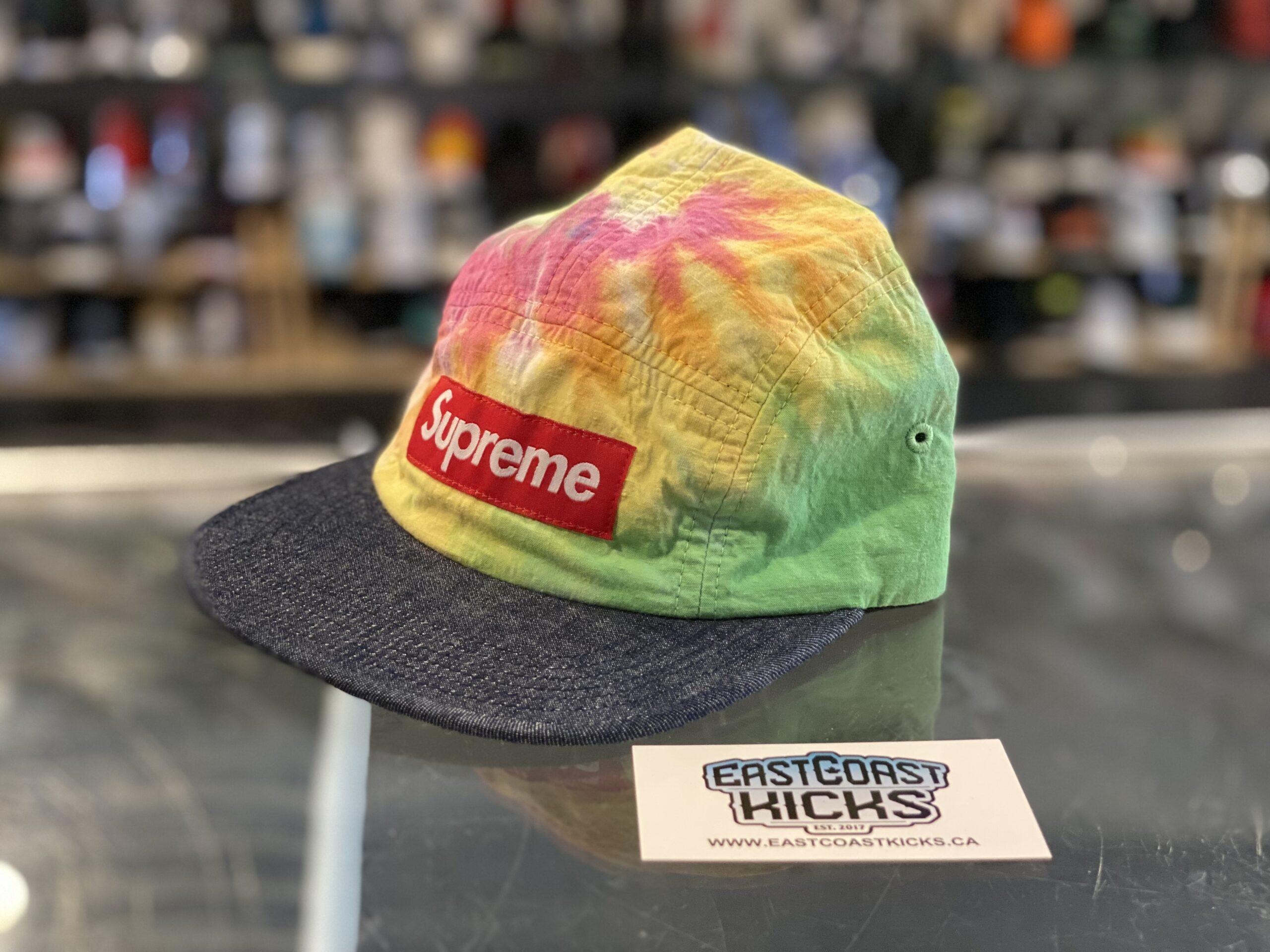 Supreme Rainbow Tie Dye Hat
