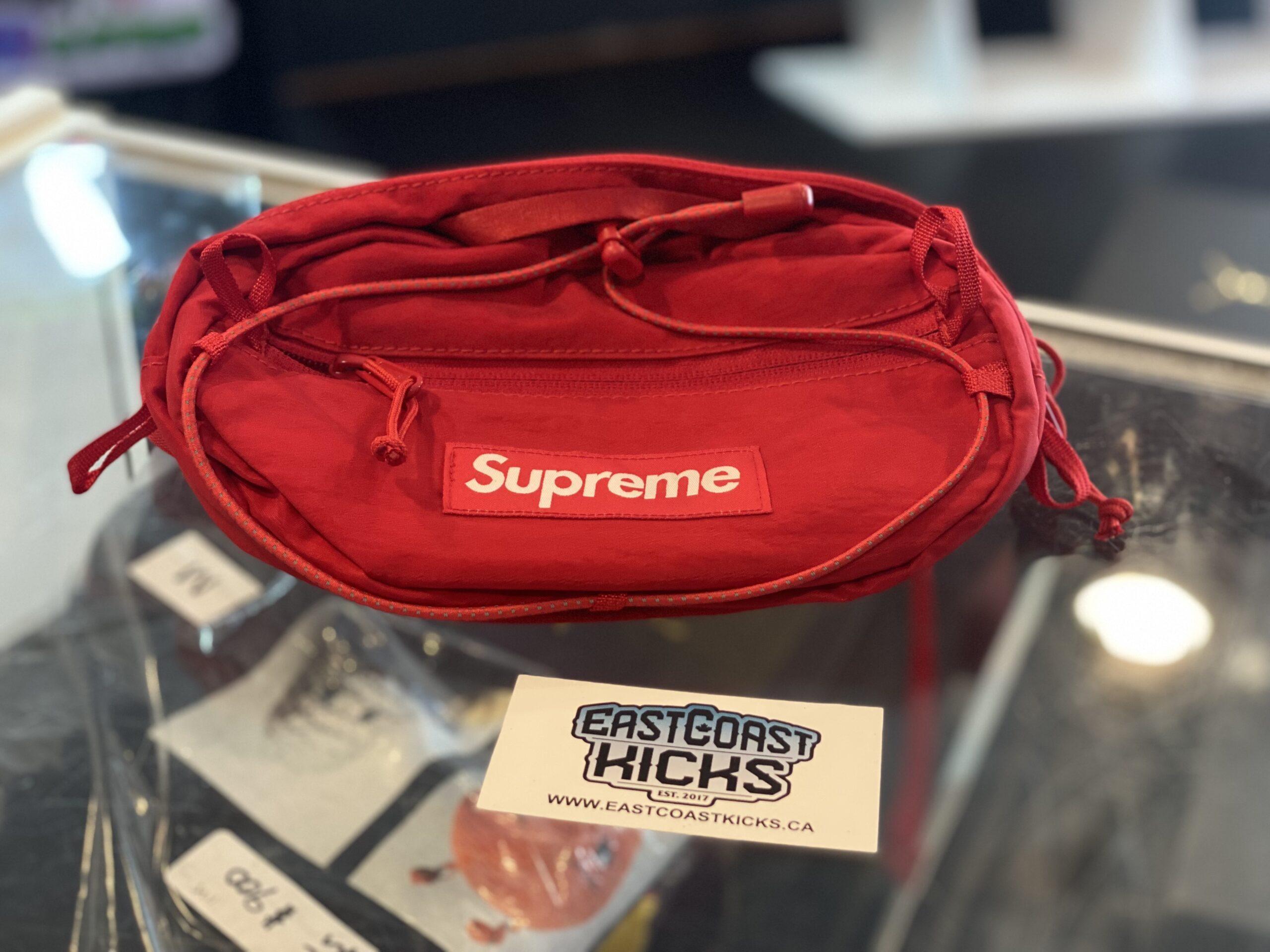 Supreme Waist Bag Dark Red FW20