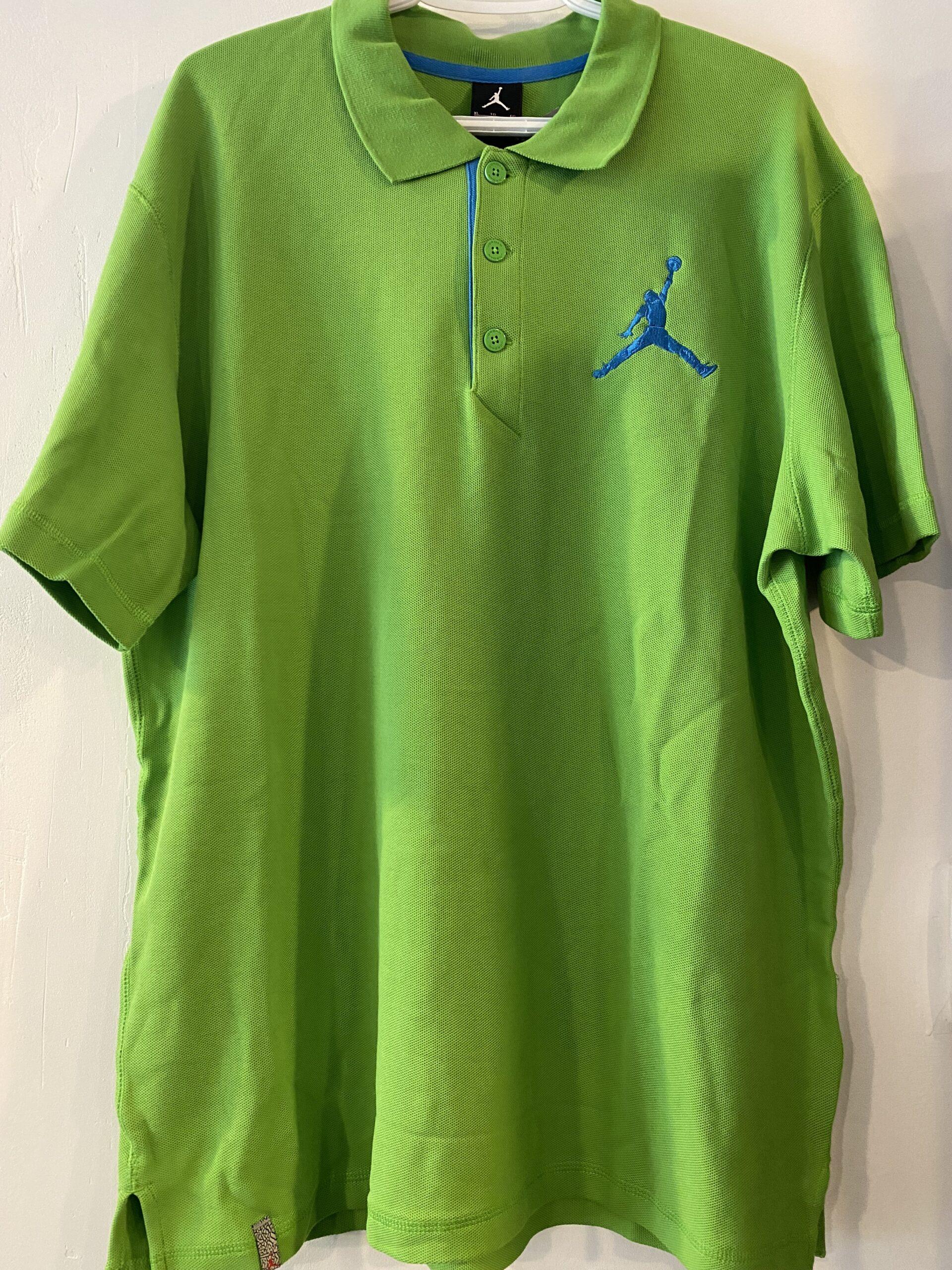 Jordan Golf Shirt Green Size XL