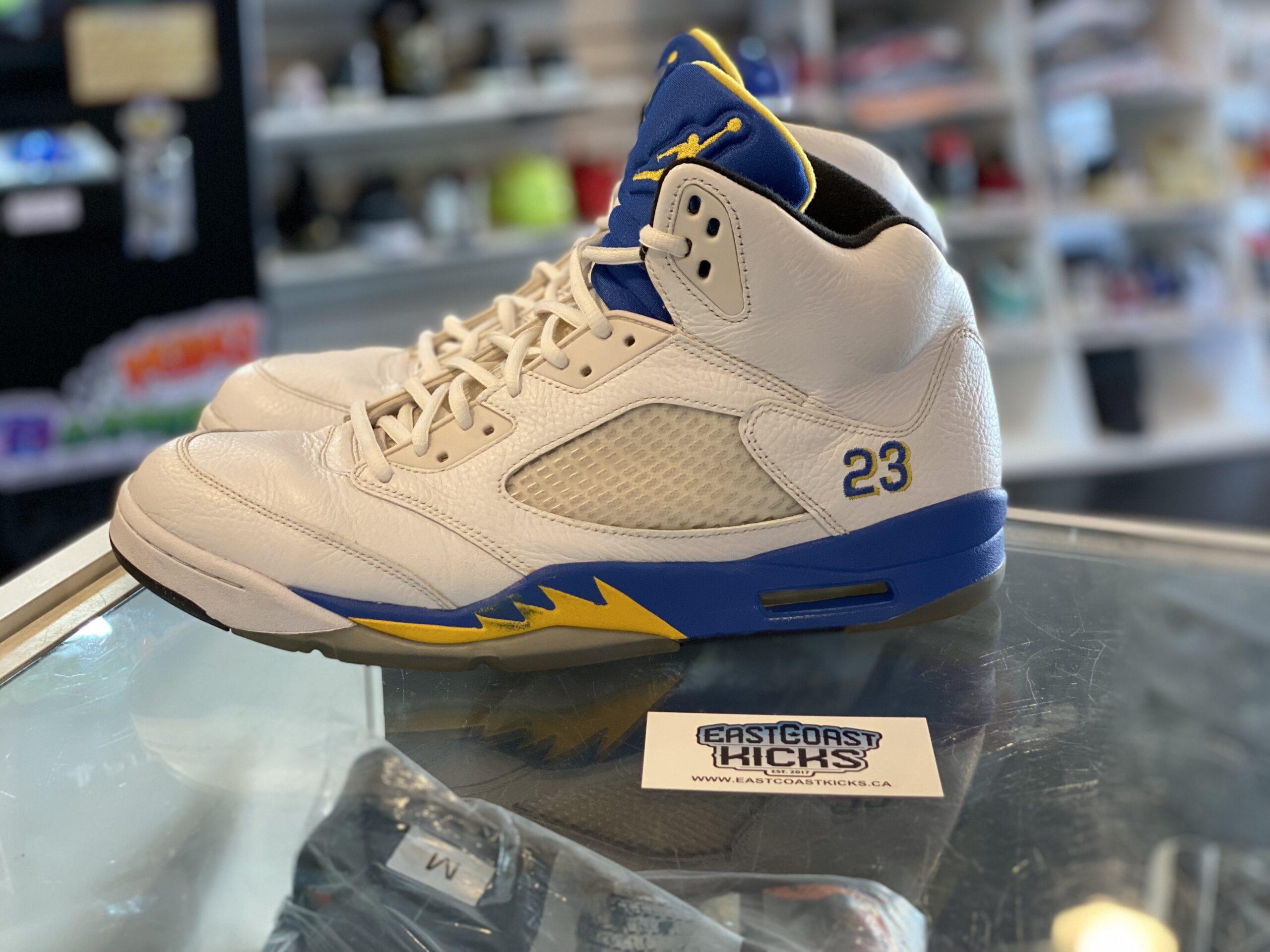 Preowned Jordan 5 Laney Size 13