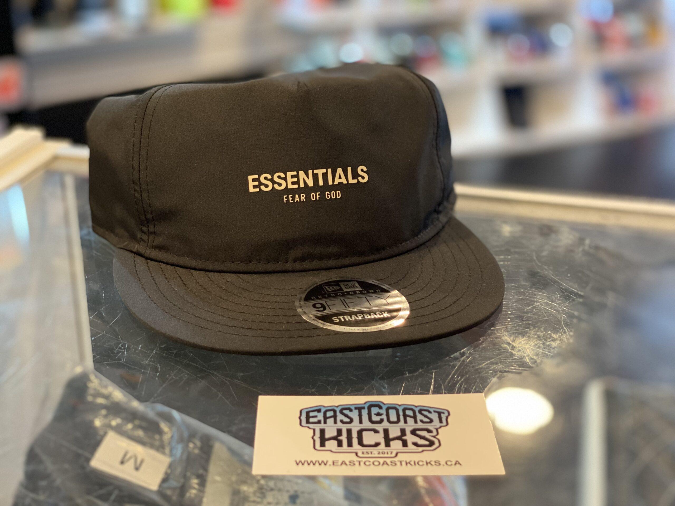 Fear of God Essentials Hat Black