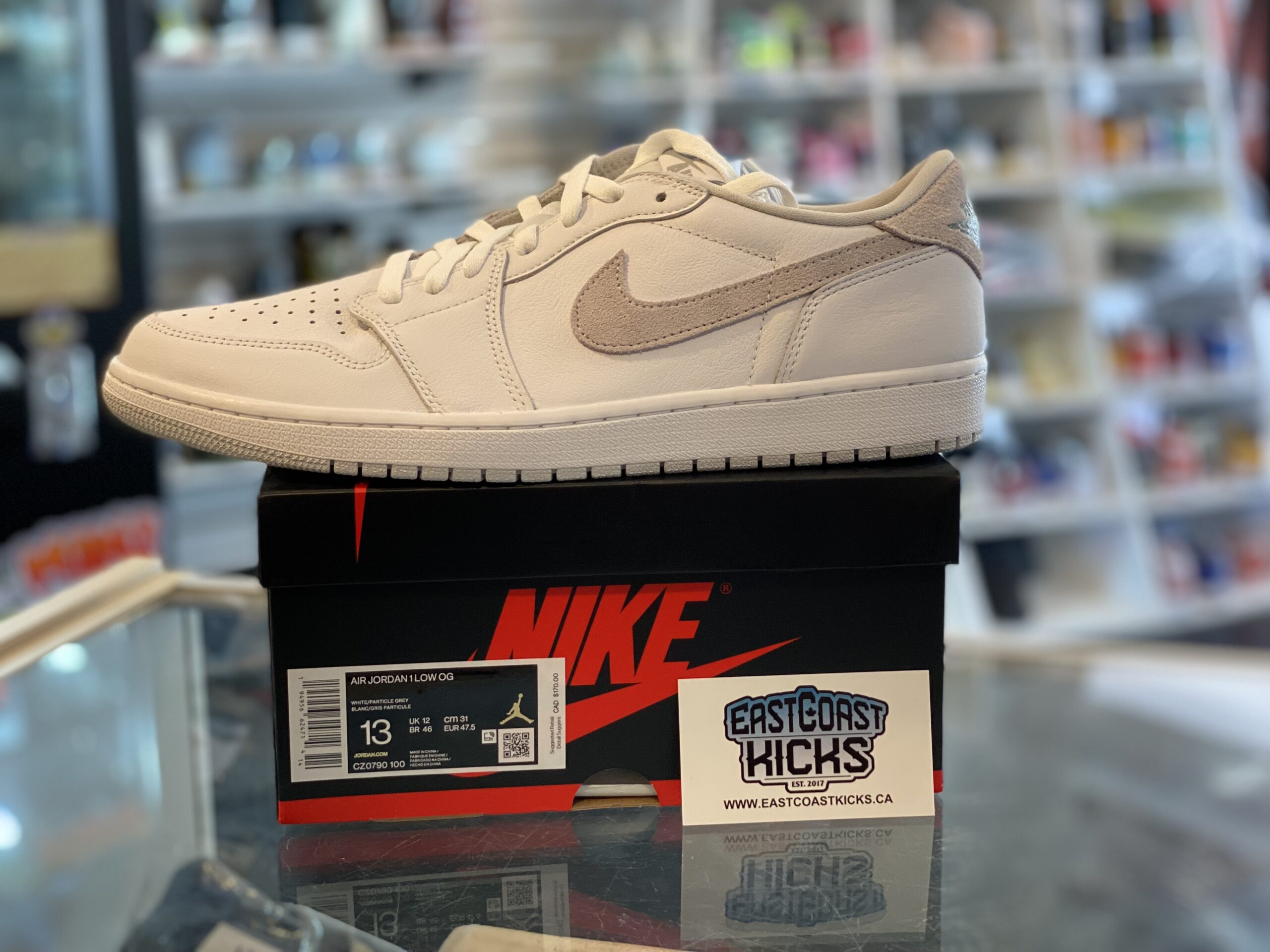 Jordan 1 Low Neutral Grey Size 13