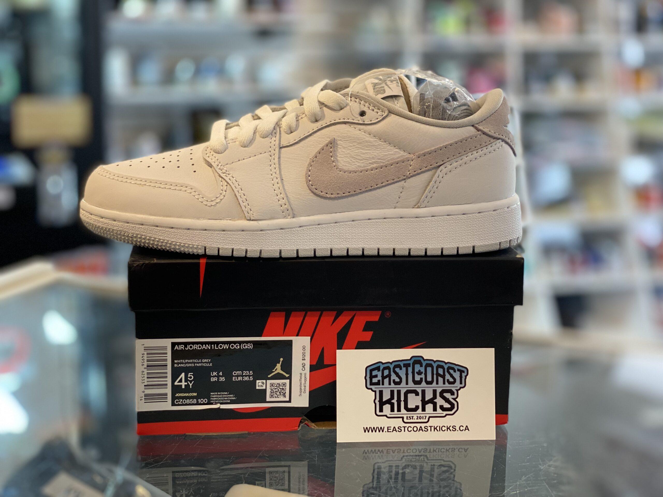 Jordan 1 Low Neutral Grey Size 4.5Y