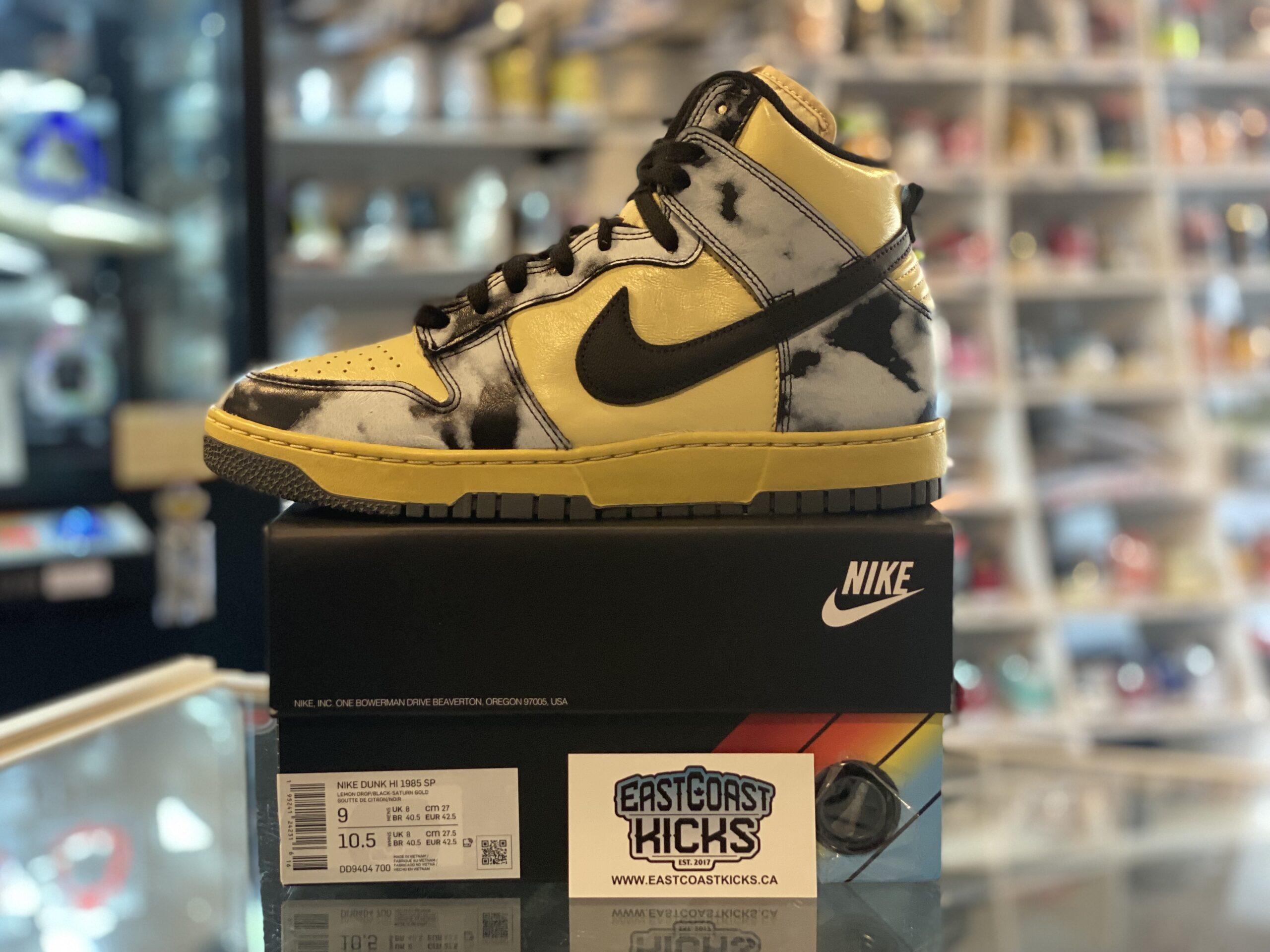 Nike Dunk High 1985 Acid Wash Size 9
