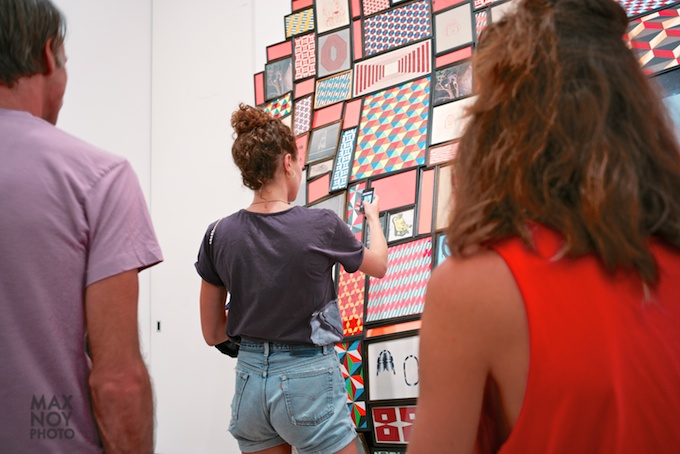 Instagram what you can of Barry McGee at Cheim & Read