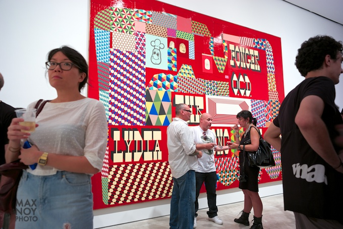 Strong Work for a Strong Opening for Barry McGee