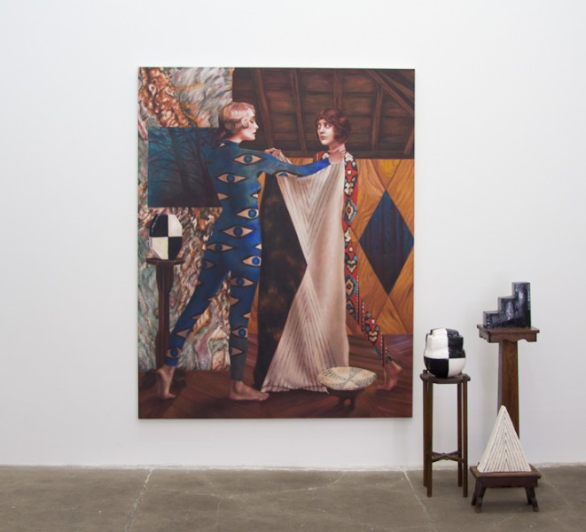 Art is never just art: History of Magic II - Initiation by Alison Blickle at Kravets/Wehby