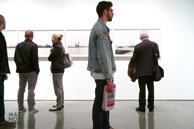 Art Attendees at Yossi Milo Gallery