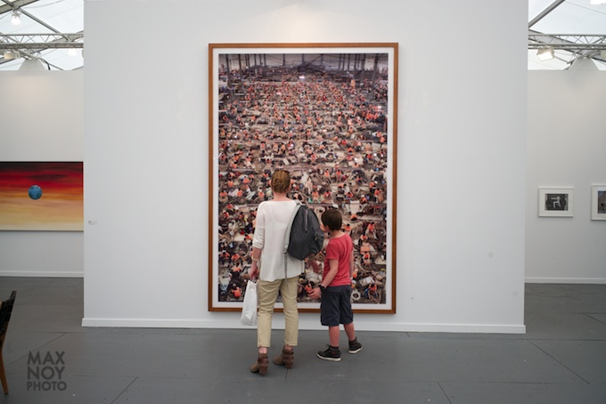 Frieze 2014 photo by Max Noy Photo