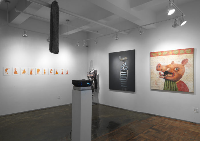 Celebrating Women with Overlap: Life Tapestries at A.I.R. Gallery curated by Vida Sabbaghi