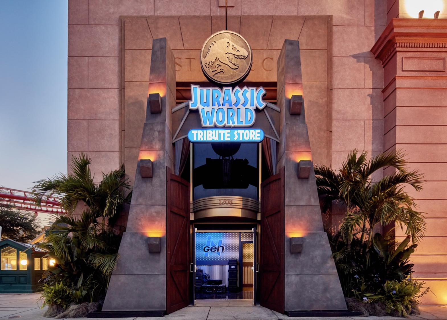 Jurassic World Tribute Store