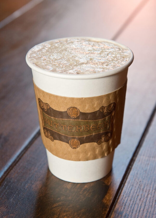 Hot Butterbeer at Universal Orlando