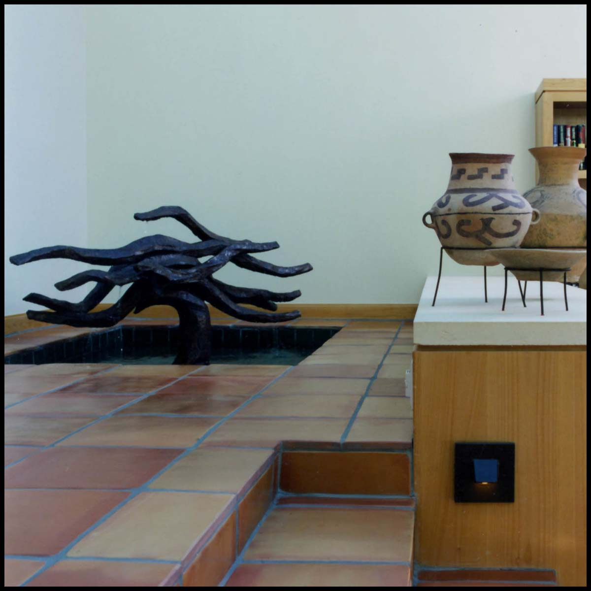 Indoor Fountain Sculpture at Private Residence